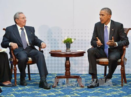 Cuộc gặp giữa Chủ tịch Cuba Raul Castro