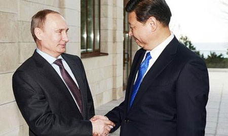 Trung Quốc và Nga đang trong mối quan hệ bền chặt và cùng phối hợp với nhau để hưởng lợi từ đó