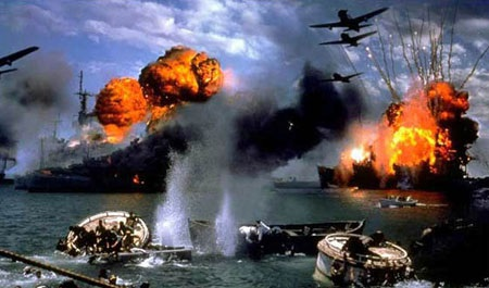 Cảnh vụ tấn công Trân Châu cảng. (Ảnh: