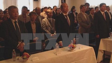 Các đại biểu tham dự buổi lễ. (Ảnh: