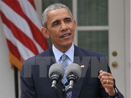 Tổng thống Mỹ Barack Obama. (Nguồn: