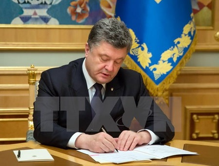 Tổng thống Ukraine Petro Poroshenko. (