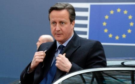 Thủ tướng Anh Cameron đang có nhiều ưu thế để thương lượng với EU. (Ảnh: