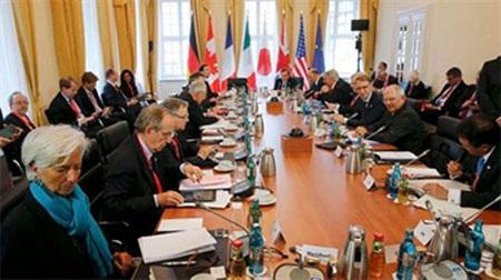 Các nhà lãnh đạo tài chính G7 dự hội nghị ở thành phố Dresden ngày 28-5