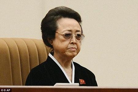 Bà Kim Kyong Hui