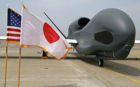Mỹ đã điều Global Hawk hiện đại nhất của nước này tới châu Á. (Ảnh: