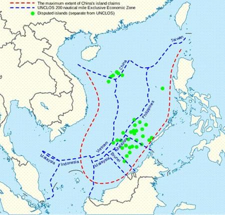 """Trung Quốc ngang ngược, cậy mạnh, tuyên bố đường """"lưỡi bò"""" này để chiếm toàn bộ Biển Đông"""