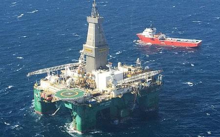 Các công ty Anh thăm dò dầu ngoài ngơi Falklands/Malvinas. (Ảnh: