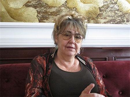 Bà Sandra Scargliotti trong lần thăm Việt Nam, tháng 4-2015