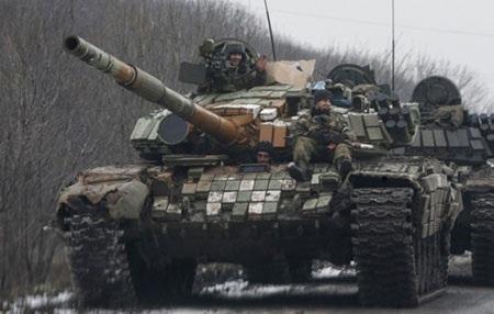 Quân đội Ukraine rất lo ngại trước sức mạnh của các lữ đoàn xe tăng của quân ly khai