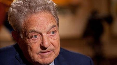Trùm tài phiệt người Mỹ gốc Do Thái George Soros