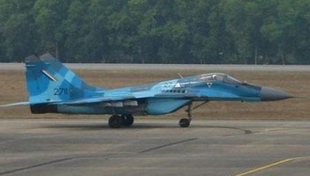 Máy bay MiG-29 của không quân Myanmar
