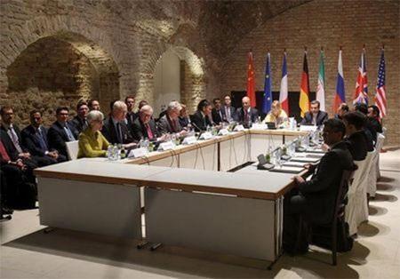 Đàm phán giữa Iran và Nhóm P5 +1 tại thủ đô Vienna (Áo) ngày 24-4. (Ảnh: