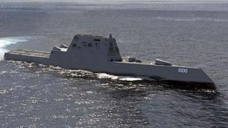 Khu trục hạm tàng hình mới nhất Zumwalt