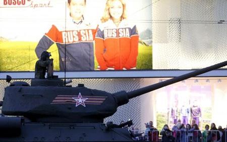 Nga chuẩn bị cho Lễ diễu binh Ngày Chiến thắng 9/5 ở Moscow