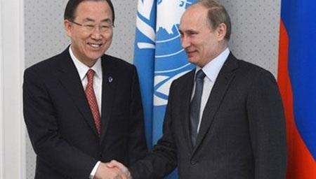 Tổng thư ký Liên Hợp Quốc Ban Ki Moon xác nhận tham dự Ngày chiến thắng 9/5 ở Nga