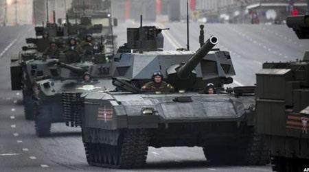 Xe tăng chiến đấu chủ lực Armata sẽ trình diễn trong lễ diễu binh Ngày Chiến thắng ở Moscow