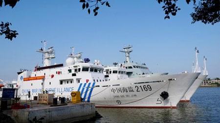 Trung Quốc điều 2 tàu hải giám tuần tra trái phép quần đảo Hoàng Sa. (Ảnh: