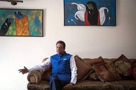 Người đàn ông giàu nhất Nepal, ông vua mỳ gói Binod Chaudhary. (Nguồn: