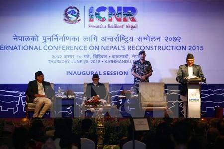 Ngoại trưởng Nepal Mahendra Bahadur Pandey (