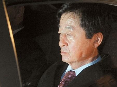 Ông Roh Geon-pyeong, anh trai của cố Tổng thống Hàn Quốc Roh Moo-hyun. (Nguồn: