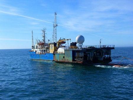 Tàu thăm dò dầu khí Tân Hải 517 của Trung Quốc