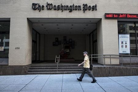 Trụ sở tờ Bưu điện Washington ở Washington DC. (Ảnh: