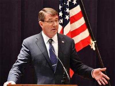 Bộ trưởng Quốc phòng Mỹ Ash Carter (