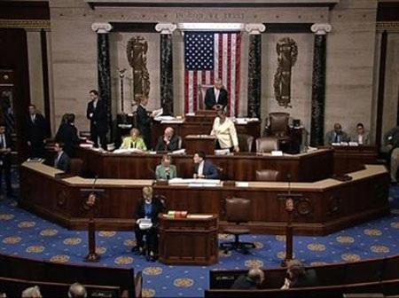 Hạ viện Mỹ hôm 12-6 đã bỏ phiếu phản đối TAA, một phần của gói dự luật TPA. (Ảnh: