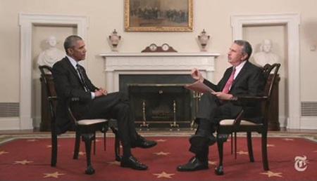Tổng thống Obama trả lời phỏng vấn