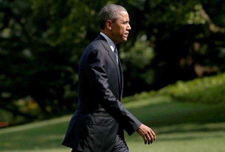 Ông Obama đang có quãng thời gian được cho là thành công nhất tại Nhà Trắng. (Ảnh: