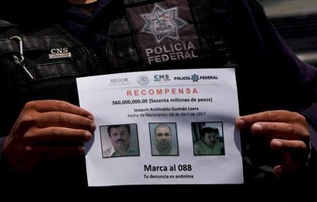 Mexico đã cho truy nã rộng rãi El Chapo, sau màn trốn tù gây sốc của trùm ma túy