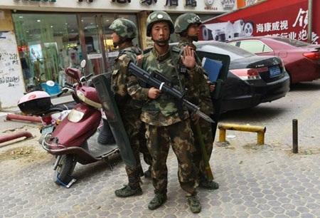 Cảnh sát Trung Quốc. (Ảnh minh họa: