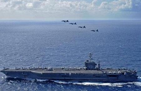 Một cuộc tập trận chung không quân, hải quân Mỹ - Nhật