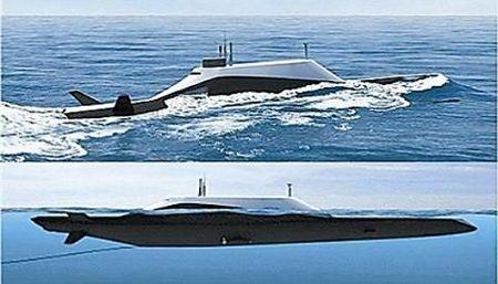 Tàu ngầm SMX-25 của DCNS