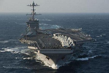 Tàu sân bay George Washington thuộc Hạm đội 7 của Mỹ