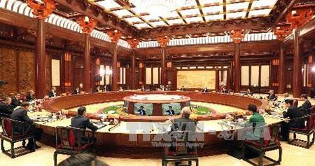 Hội nghị các nhà lãnh đạo Diễn đàn hợp tác kinh tế châu Á-Thái Bình Dương (APEC) lần thứ 22. (Ảnh: