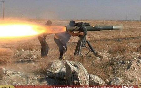 Vũ khí của IS ở Syria. (Ảnh: