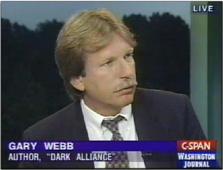 Nhà báo Gary Webb.
