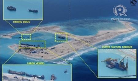 Trung Quốc đang muốn mở rộng vết chân trên Biển Đông. (Ảnh: