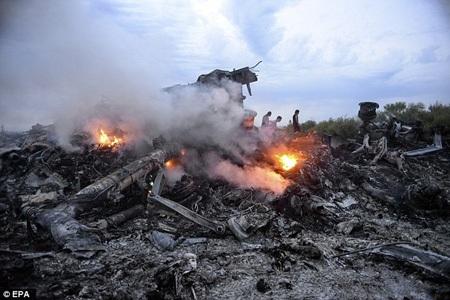 Ký ức về vụ MH17 vẫn hằn sâu trong tâm trí nhiều người. (Nguồn: