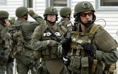 Một đội cảnh sát chiến thuật của Mỹ (ảnh: