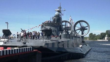 Tàu đổ bộ đệm khí cỡ nhỏ Evghenii Kocheskov (Dự án 12322, lớp Zybr).
