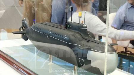 Tàu ngầm cỡ nhỏ linh hoạt lớp Piranha-T.
