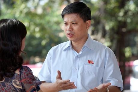 Đại biểu Nguyễn Sỹ Cương, Ủy viên thường trực Ủy ban Pháp luật của Quốc hội.