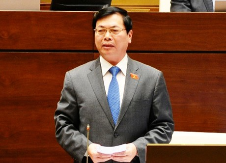 Bộ trưởng Công Thương Vũ Huy Hoàng.