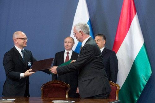 Nga và Hungary hợp tác đào tạo nhân sự ngành năng lượng hạt nhân.