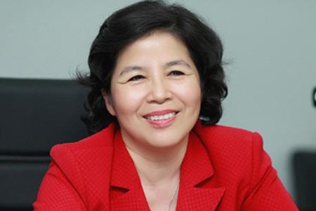 Bà chủ Vinamilk Mai Kiều Liên.