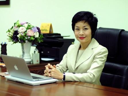 Bà Trần Hải Anh đảm nhiệm vị trí Tổng NCB từ tháng 2/2014.