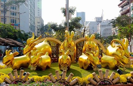 Năm Dê vàng được cho là năm thịnh vượng, phát tài, phát lộc.